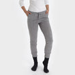 Nora joggers, light grey, 50% cashmere wool & 50% wool