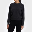Nora Cashmere Jumper charcoal, 50% cashmere wool & 50% wool