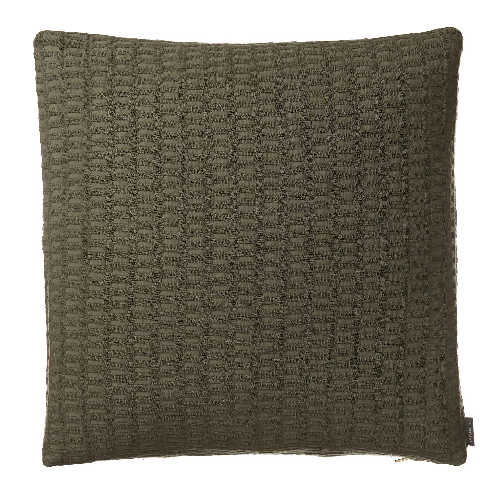 Novas Cushion Cover [Moss green]