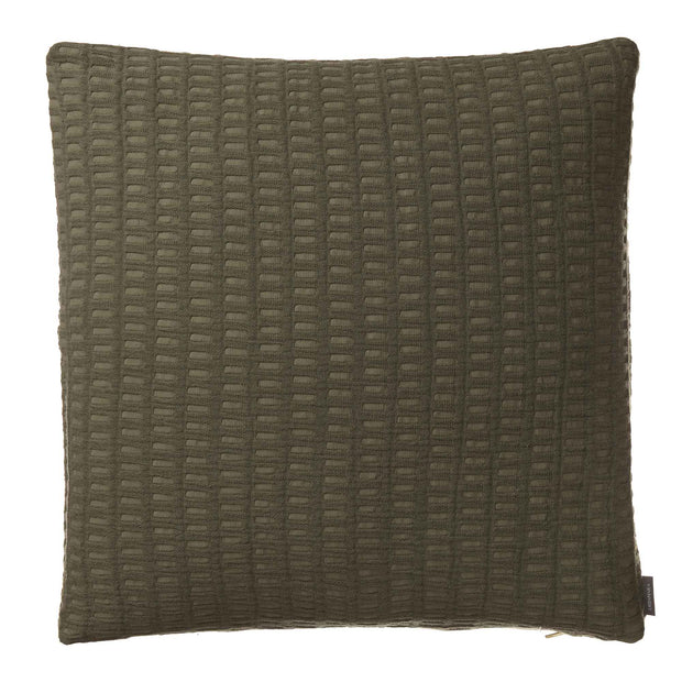Novas Cushion Cover moss green, 100% cotton