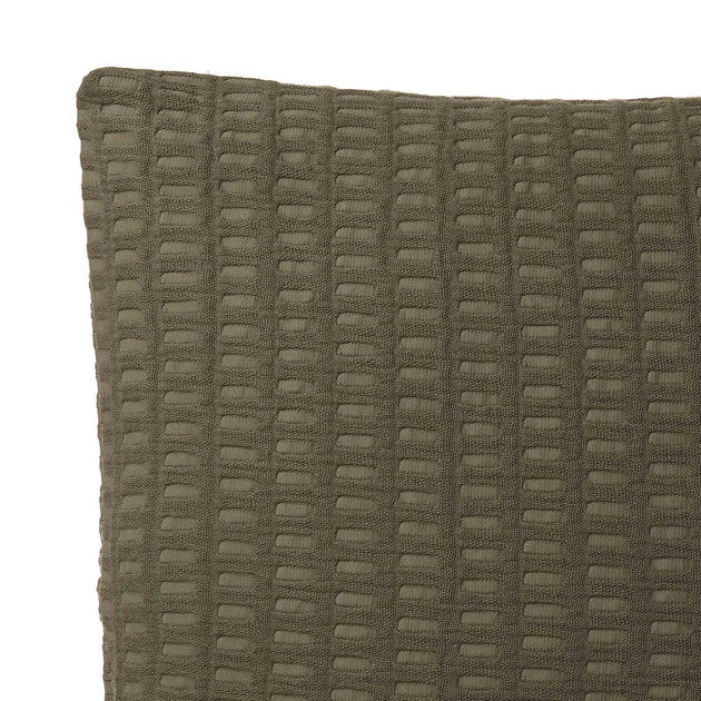 Novas Cushion Cover in moss green | Home & Living inspiration | URBANARA