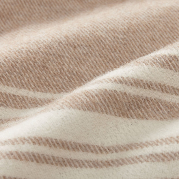 Oroya Alpaca Blanket beige, 50% alpaca wool & 50% merino wool | Find the perfect alpaca blankets