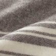 Oroya Alpaca Blanket dark brown, 50% alpaca wool & 50% merino wool | High quality homewares
