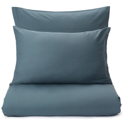 Oufeiro Sateen Bed Linen pale teal, 100% organic cotton