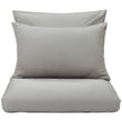Oufeiro duvet cover, mist green, 100% organic cotton