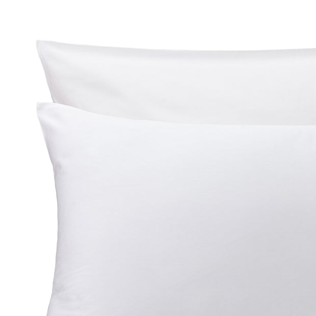 Oufeiro Bed Linen white, 100% organic cotton | URBANARA sateen bedding