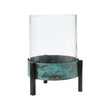 Ozar Windlight Candle Holder in turquoise & black | Home & Living inspiration | URBANARA