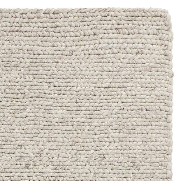Palama rug, off-white melange, 50% wool & 50% viscose