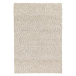 Panchu rug, ivory, 45% wool & 45% viscose & 10% cotton | URBANARA wool rugs