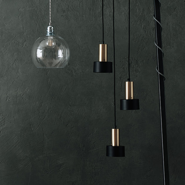 Black & Brass Kurchi Hängelampe | Home & Living inspiration | URBANARA