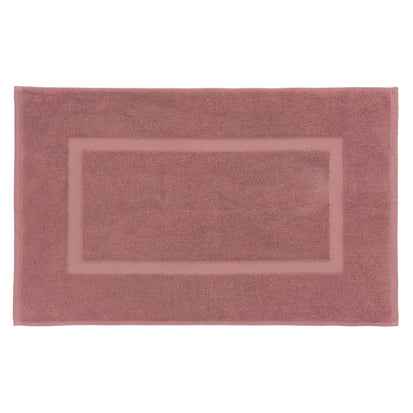 Penela Bath Mat dusty pink, 100% egyptian cotton