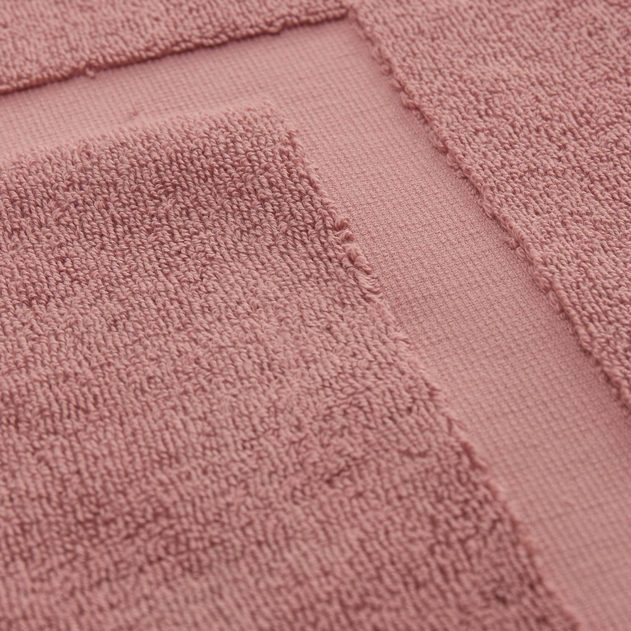Penela Bath Mat [Dusty pink]