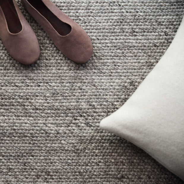 Kesar rug, cream & grey & sand, 60% wool & 15% jute & 25% cotton |High quality homewares