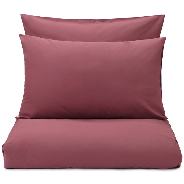 Perpignan duvet cover, raspberry rose, 100% combed cotton
