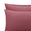 Perpignan duvet cover, raspberry rose, 100% combed cotton | URBANARA percale bedding