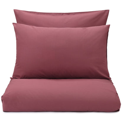 Perpignan pillowcase, raspberry rose, 100% combed cotton