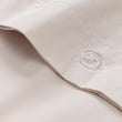 Perpignan duvet cover in natural, 100% combed cotton |Find the perfect percale bedding