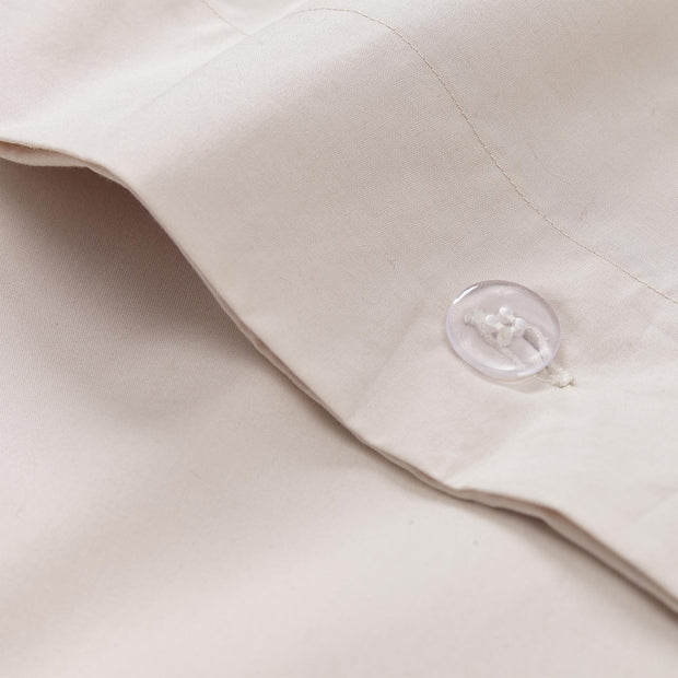 Perpignan Percale Bed Linen natural, 100% combed cotton | Find the perfect percale bedding