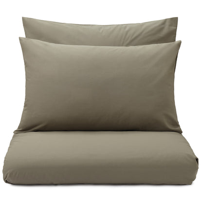 Perpignan pillowcase, olive green, 100% combed cotton