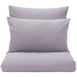 Perpignan Percale Bed Linen pigeon blue, 100% cotton