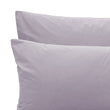 Perpignan Percale Bed Linen pigeon blue, 100% cotton | URBANARA percale bedding
