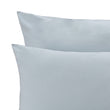 Perpignan Percale Bed Linen green grey, 100% combed cotton | URBANARA percale bedding