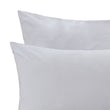 Perpignan Percale Bed Linen light grey, 100% combed cotton | URBANARA percale bedding