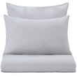 Perpignan Bed Linen light grey, 100% combed cotton