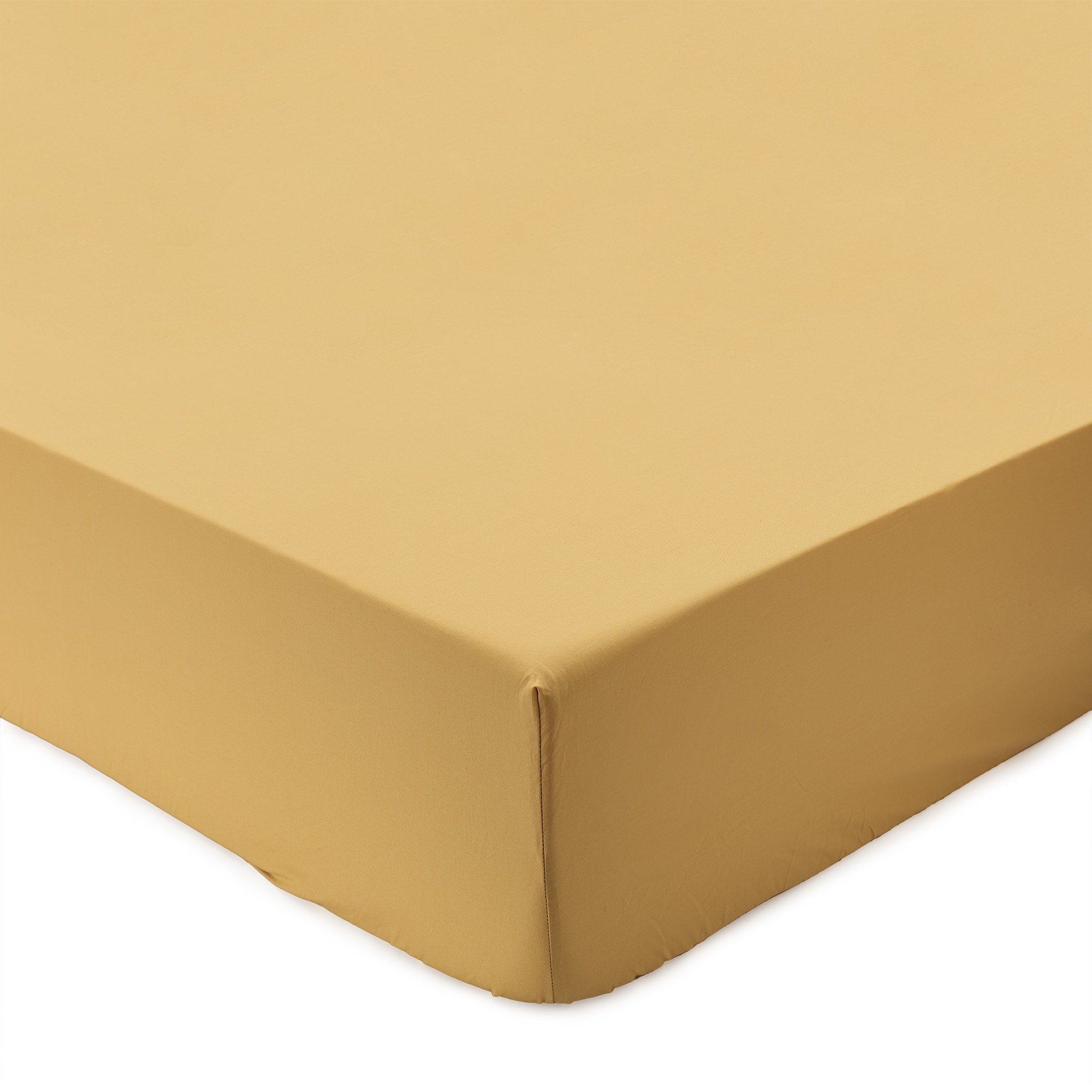 Perpignan Fitted Sheet [Mustard]