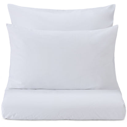 Perpignan Percale Bed Linen white, 100% combed cotton
