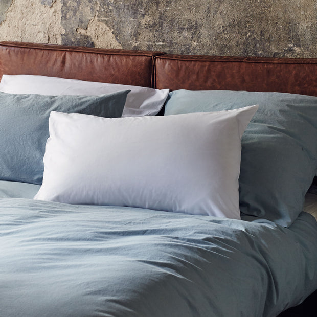 Perpignan Percale Bed Linen in white | Home & Living inspiration | URBANARA