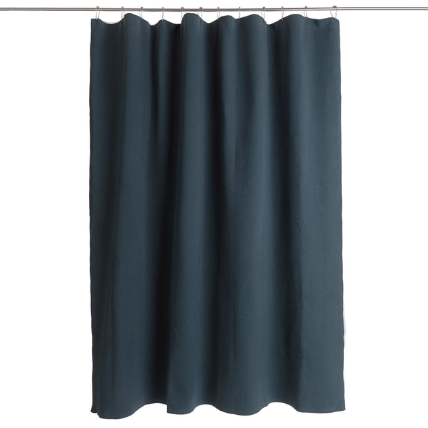 Proaza Shower Curtain teal, 100% cotton