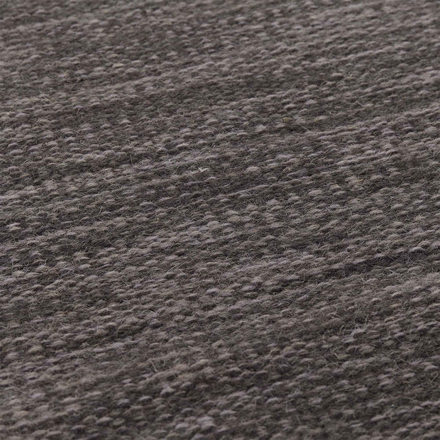 Pugal runner, grey melange, 100% wool | URBANARA runners