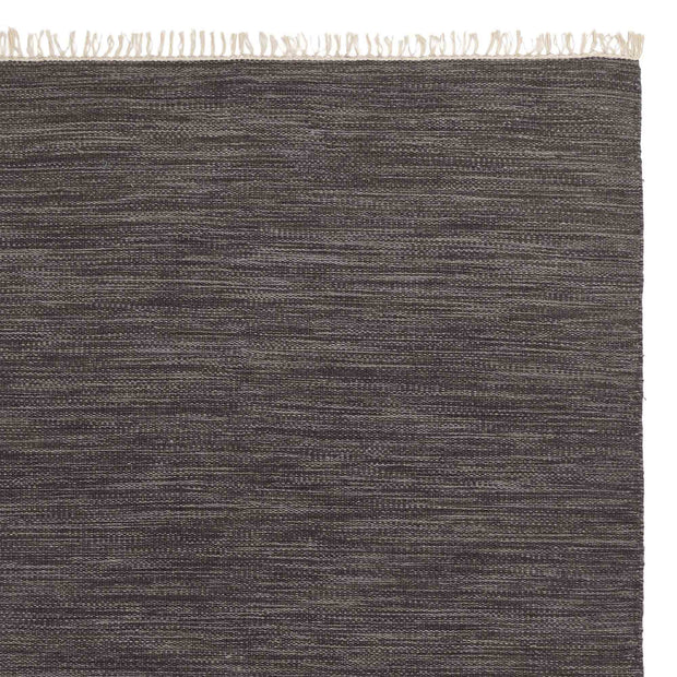 Pugal rug, grey melange, 100% wool