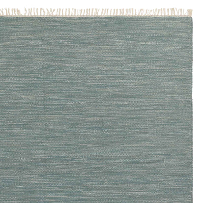 Pugal runner, green grey melange, 100% wool