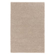 Ravi Mix Rug cream melange, 70% wool & 10% viscose & 20% cotton | URBANARA wool rugs