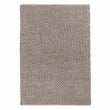 Ravi Mix Rug stone grey melange, 70% wool & 10% viscose & 20% cotton | URBANARA wool rugs