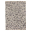 Ravi Wool Rug grey melange, 100% wool & 100% cotton | URBANARA wool rugs