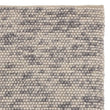 Ravi Wool Rug grey melange, 100% wool & 100% cotton