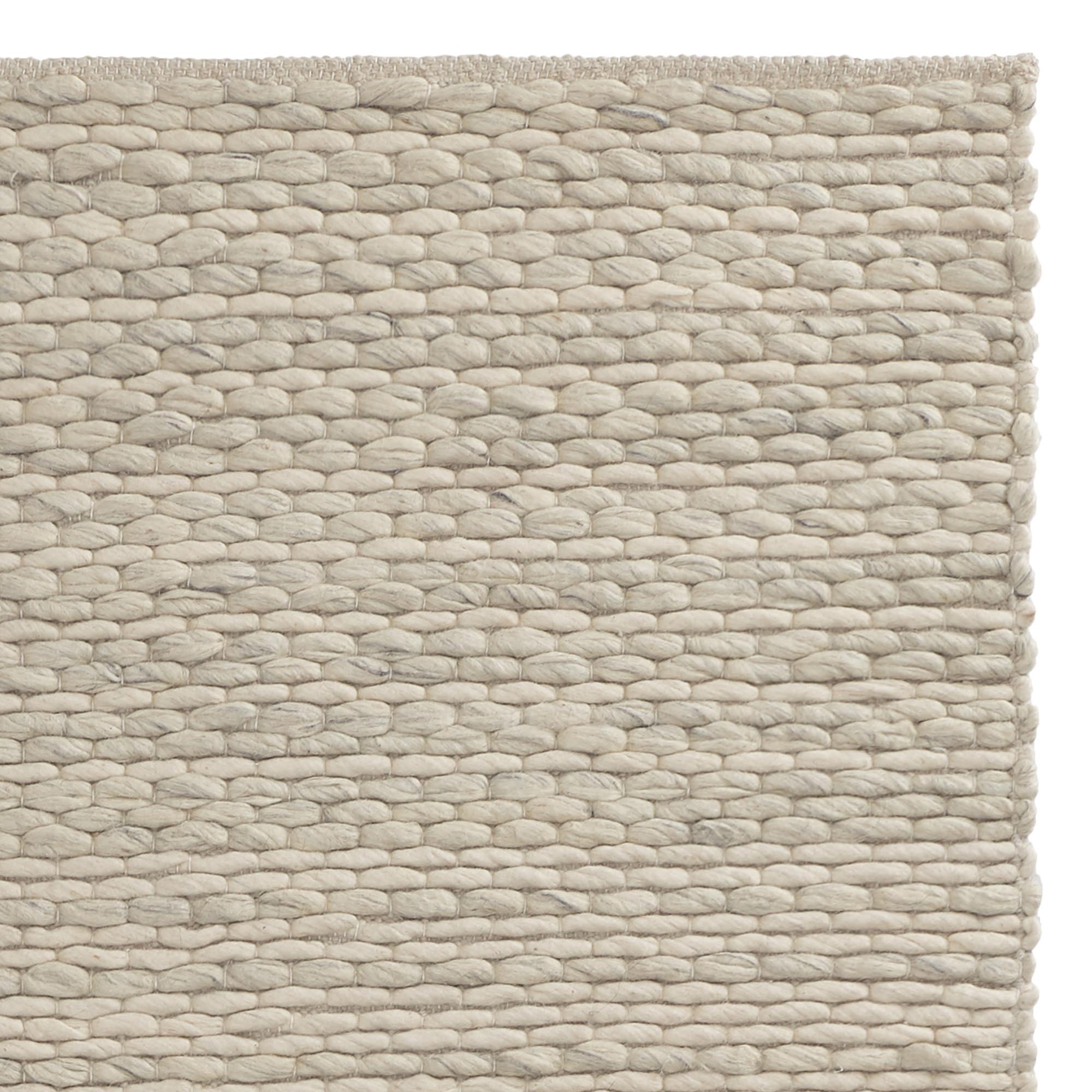 Romo Rug Cream Natural 50 Wool 50 Cotton Urbanara