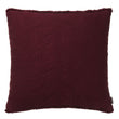 Ruivo cushion cover, bordeaux red, 100% cotton