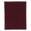 Ruivo bedspread, bordeaux red, 100% cotton