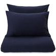 Sabugal pillowcase, darkblue melange, 100% cotton