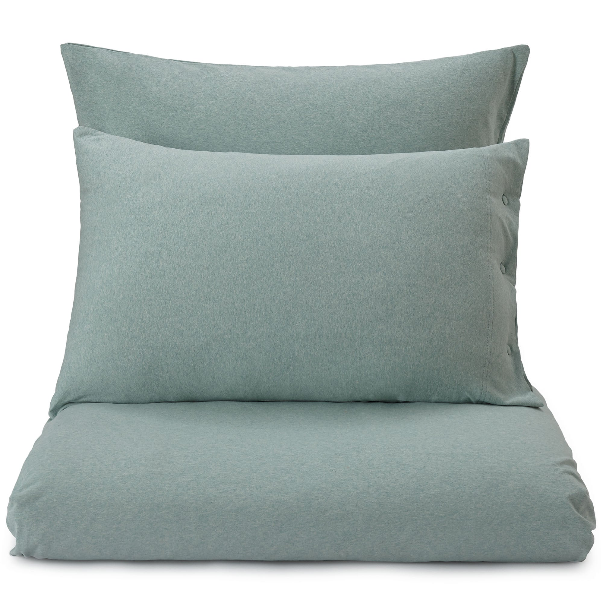 Sabugal pillowcase, light grey green melange, 100% cotton