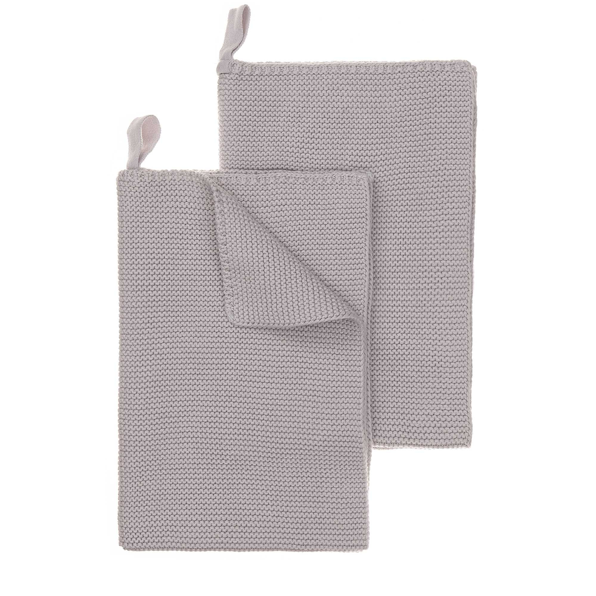 Safara Tea Towel Set [Silver grey]