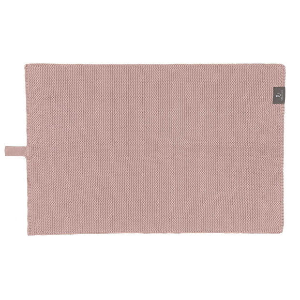 Safara Tea Towel Set powder pink, 100% cotton | URBANARA dishcloths