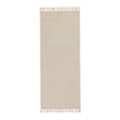 Salasar runner, natural white, 100% cotton | URBANARA runners