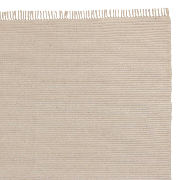 Salasar runner, natural white, 100% cotton