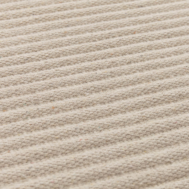 Salasar rug, natural white, 100% cotton |High quality homewares