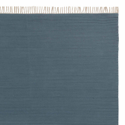 Salasar runner, teal, 100% cotton
